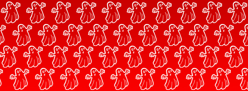 Red Ghost Creative tiles background